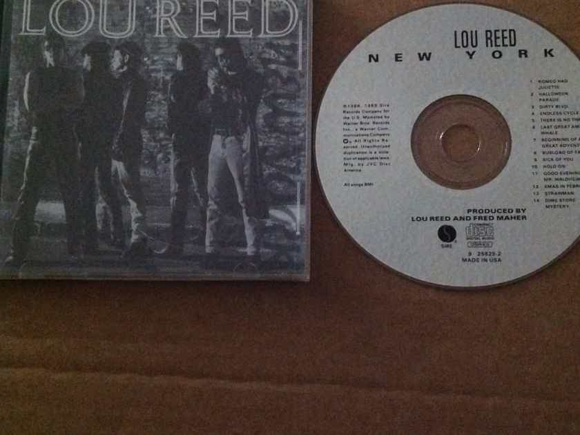 Lou Reed - New York Sire Records CD + Graphics Compact Disc