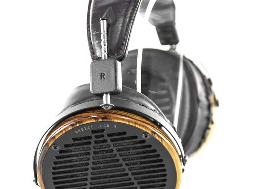 Audeze LCD-3 Planar Magnetic Headphones; Fazor; LCD3; Upgraded Cable (29150)