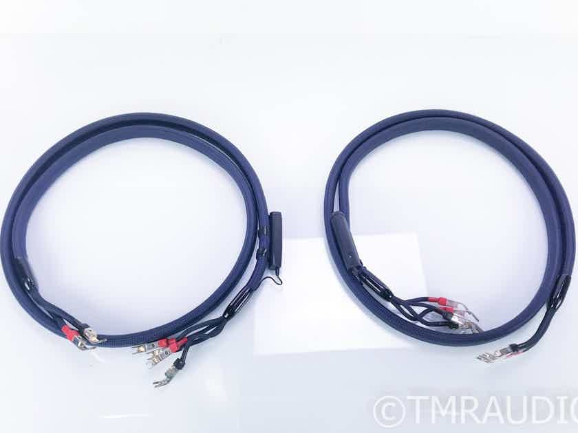 AudioQuest Wild Wood Bi-Wire Speaker Cables; 72v DBS; 8ft. Pair (16631)