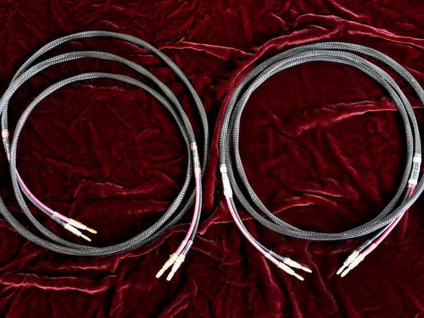 SCHMITT CUSTOM AUDIO 4MM 6N COPPER  8' Speaker Cable