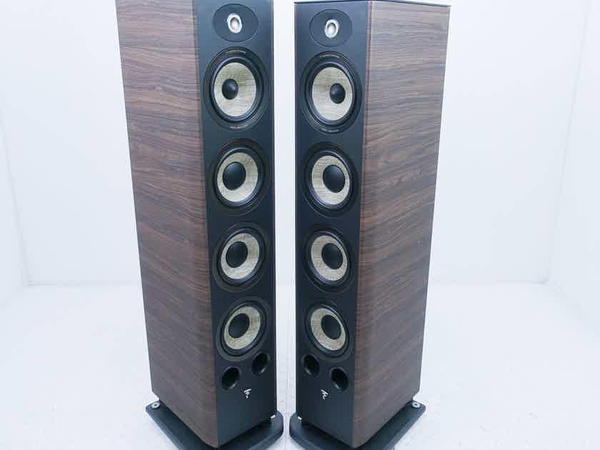 Focal Aria 936 Floorstanding Speakers Walnut Pair (15530)