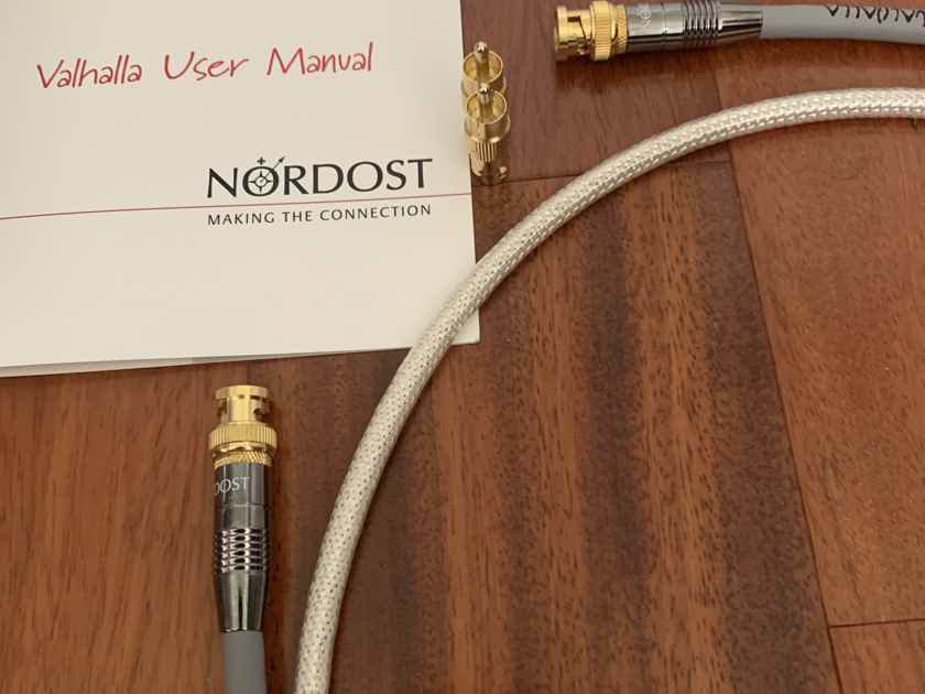 Nordost Valhalla 1 Digital 75 ohm, BNC/RCA, new & sealed.  1.5 meters long.