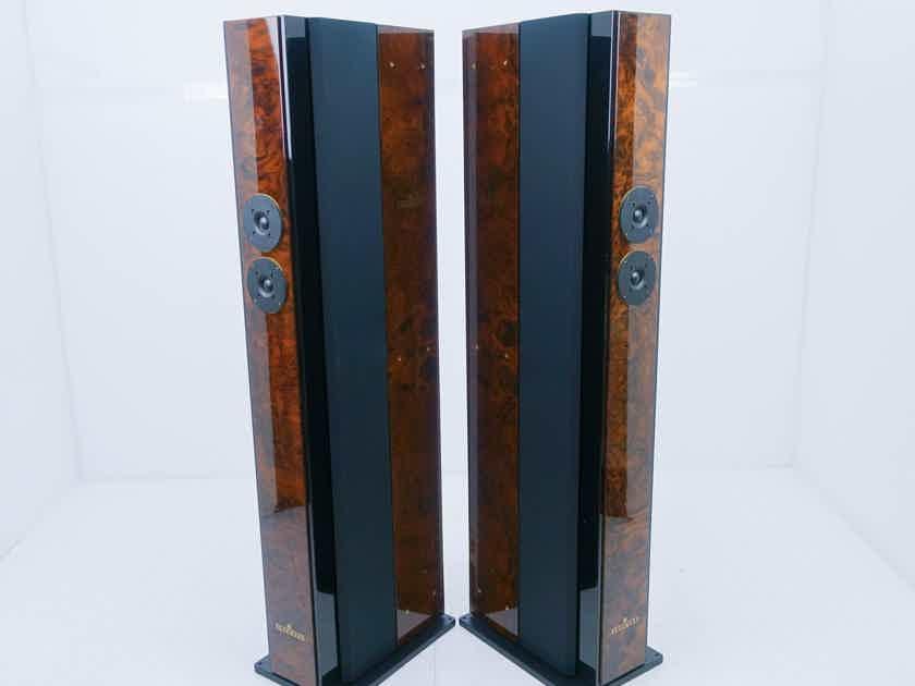 Brodmann Acoustics Vienna Classic VC7 Floorstanding Speakers Burl Walnut Pair (13502)