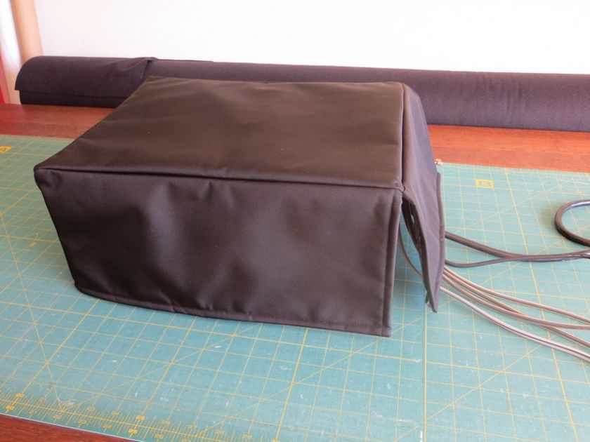 EMOTIVA All models Handmade dust covers for audio equipment.