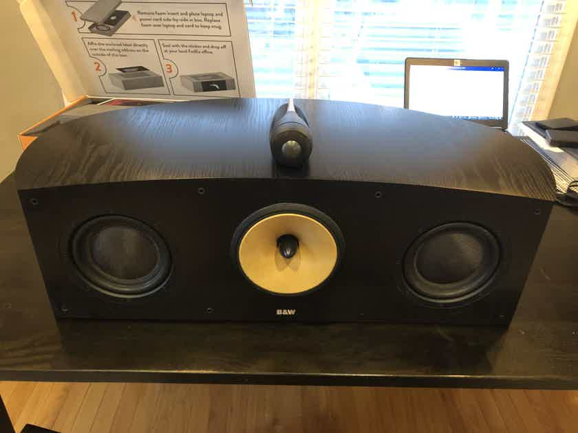B&W (Bowers & Wilkins) Nautilus HTM-1 Center Channel (Local Pickup)