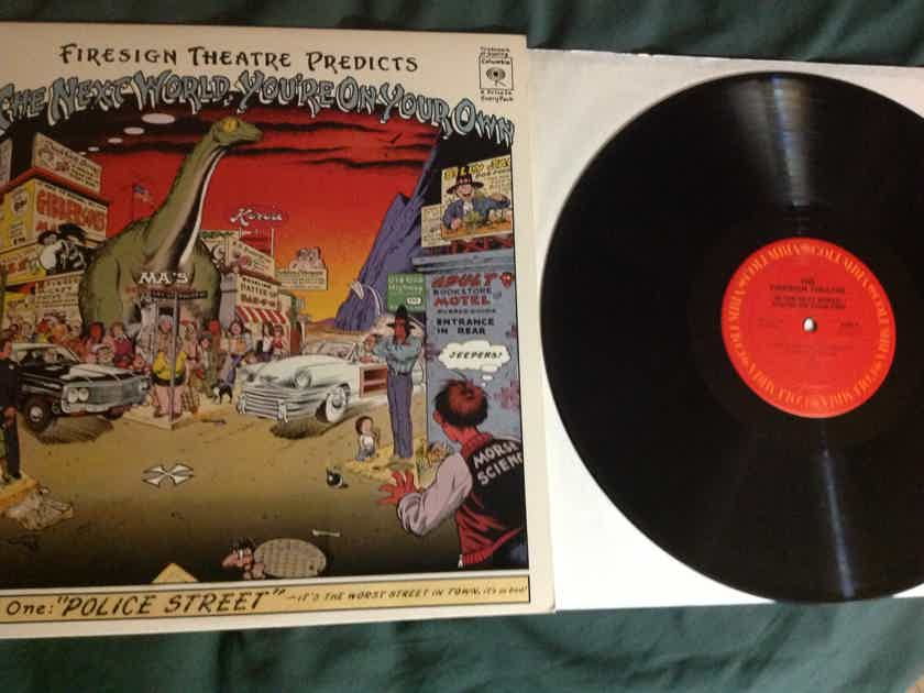 Firesign Theatre - In The Next World You're On Your Own Columbia Records Vinyl LP NM