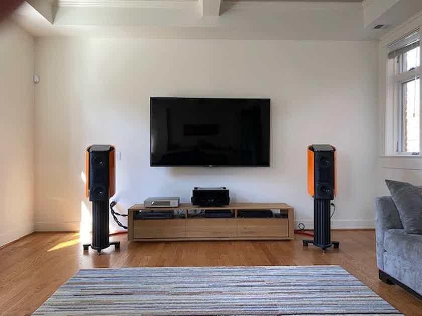 Gryphon, Mojo S Stand-mount Loudspeakers (Orange)