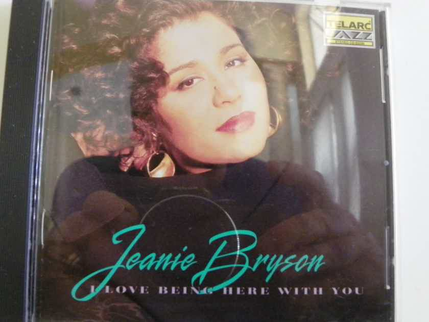 JEANIE BRYSON - I LOVE BEING HERE WITH YOU NM