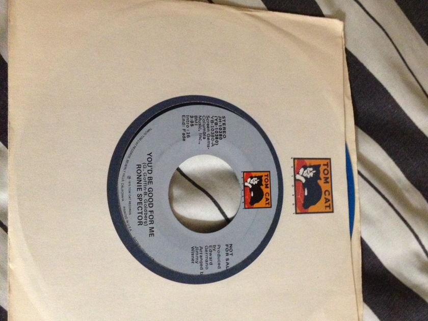 Ronnie Spector - Blue Vinyl 45 Tom Cat Label NM