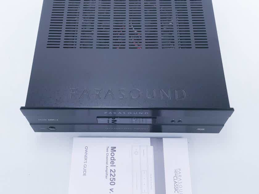 Parasound 2250 v.2 Stereo Power Amplifier (11825)