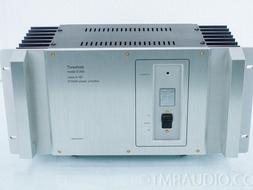 Threshold S200 Series II Optical Bias Stereo Power Amplfier (9410)