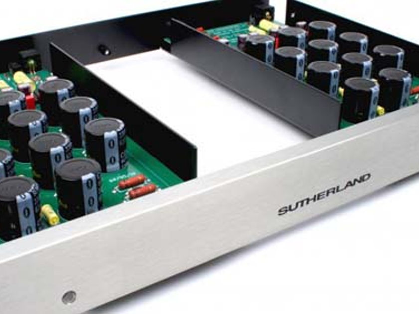 SUTHERLAND 20/20 MC/MM PHONO PRE, Solid State QUITE & DYNAMIC with  Warmer Tube Like Sound! FREE SHIP!
