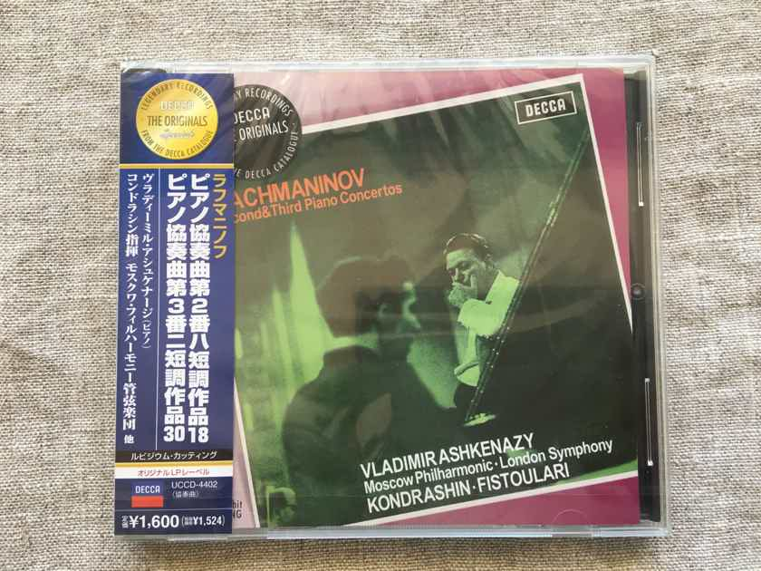 Vladimir Ashkenazy Rachmaninoff piano concertos 2&3