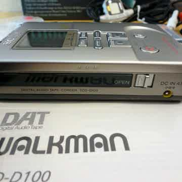 Sony  DAT Walkman TCD-D100 In Mint Condition