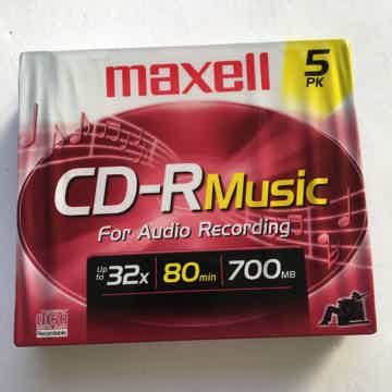 For audio recording sealed new 80 min 700 mb
