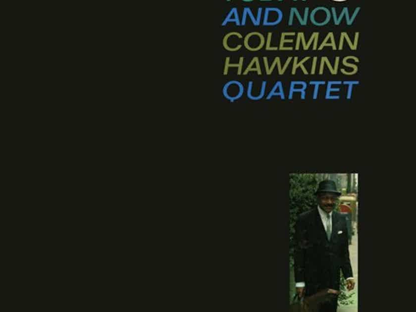 Coleman Hawkins Quartet Today and Now 2 LPs 45RPM