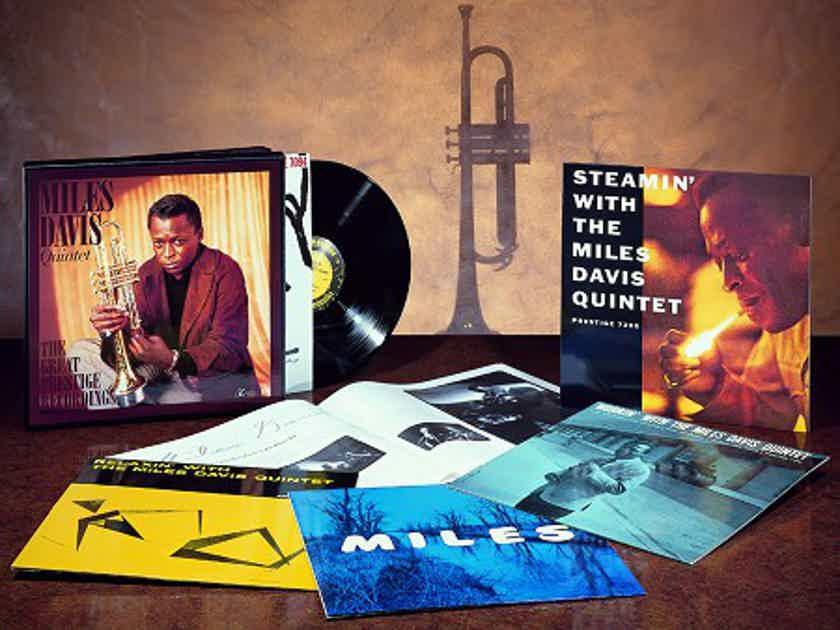 Miles Davis Quintet  The Great Prestige Recordings - APO 45 rpm
