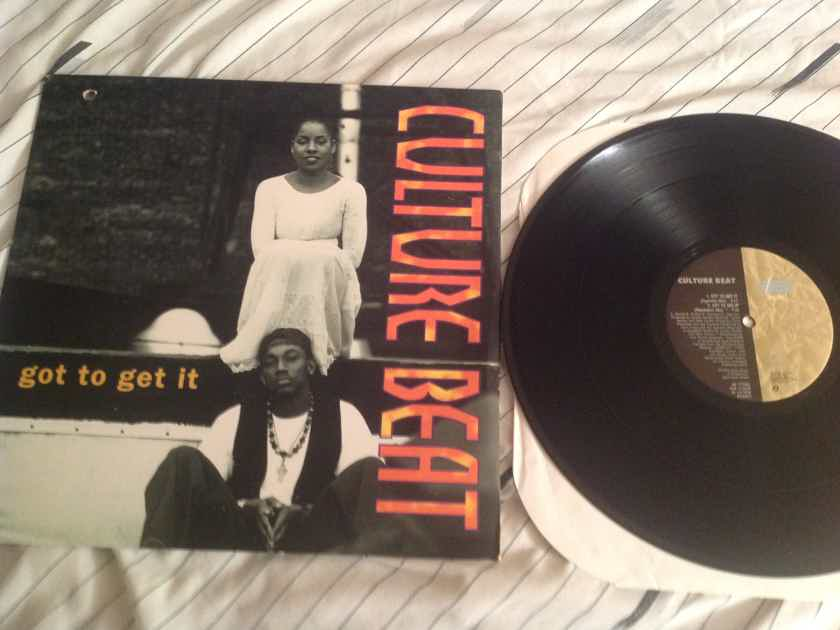 Culture Beat Got To Get It Sony 550 Music Records 12 Inch EP