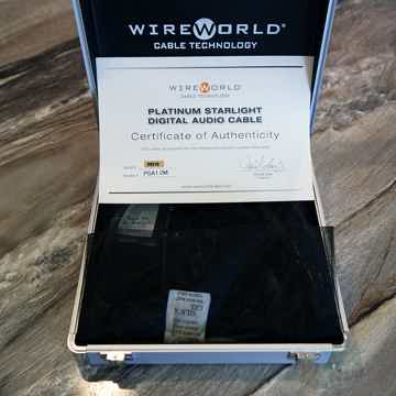 Wireworld Platinum Starlight 7 AES/EBU Digital Cable
