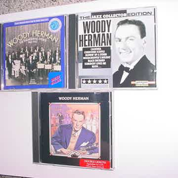 Woody Herman cd lot of 3 cd's excellent