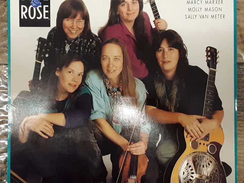 Blue Rose - Blue Rose 1988 NM Vinyl LP Sugar Hill Records SH-3768
