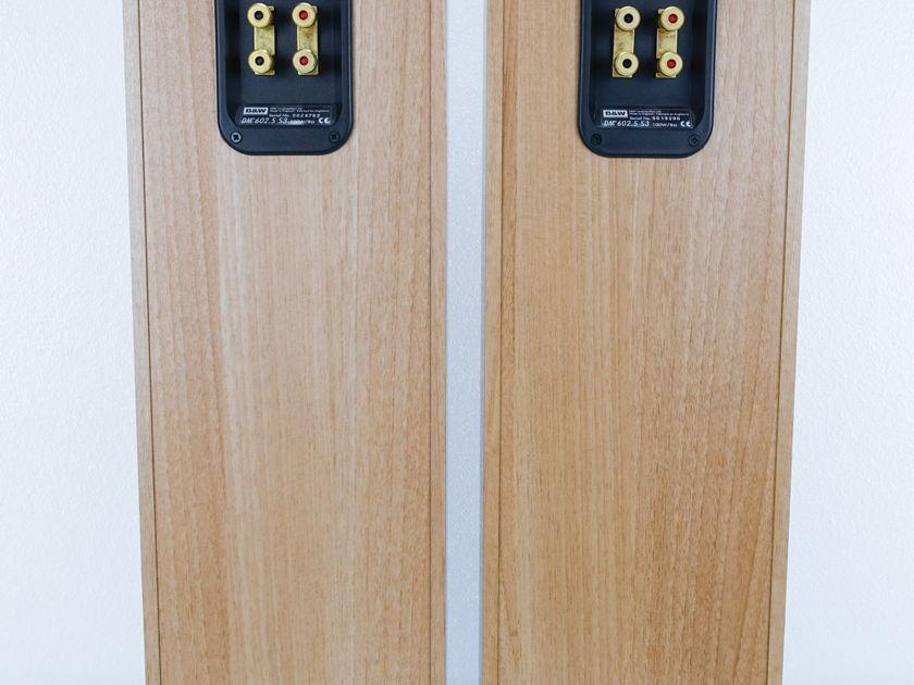 B&W  DM602.5 S3 Speakers;   Pair(8513)