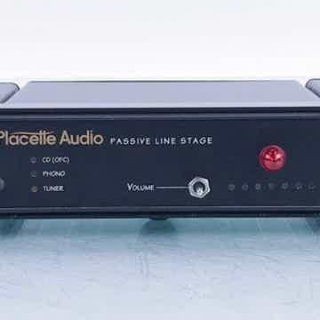 Passive Line Stage Stereo Preamplifier