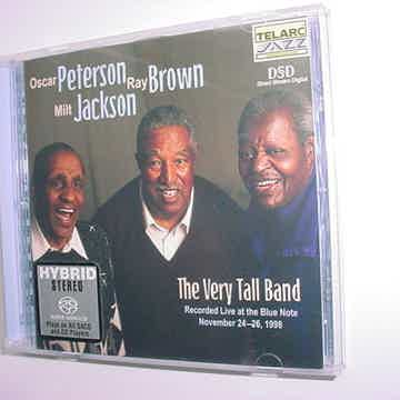 Audiophile SACD Surround DSD TELARC JAZZ Oscar Peterson Ray Brown Milt Jackson very tall band