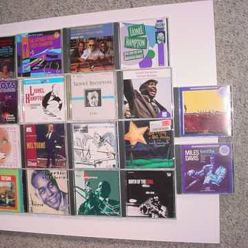 JAZZ CD lot of 18 cd's Miles Hampton Buddy Rich Parker Torme Toots Lena Tjader Jobim Shearing