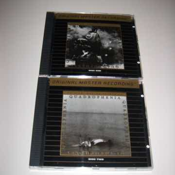 The Who - Quadrophenia CD MFSL 24k Gold CD Longbox - ve...