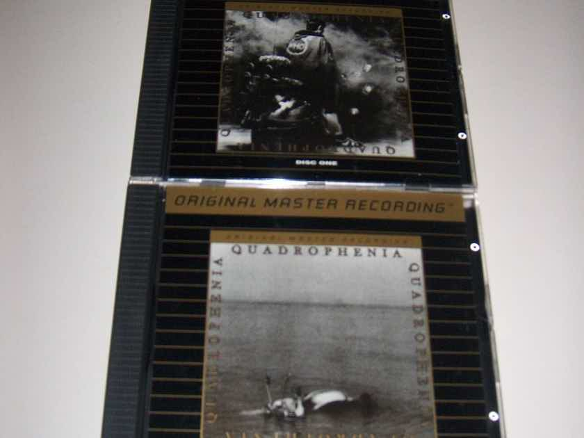 The Who - Quadrophenia CD MFSL 24k Gold CD Longbox - very rare