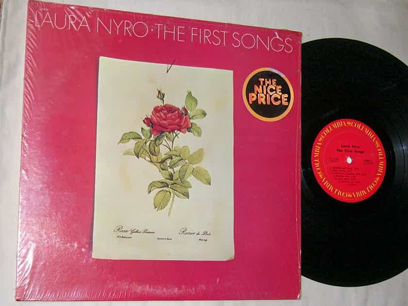 LAURA NYRO - THE FIRST SONGS - - RARE ORIG 1973 LP -  COLUMBIA PC 31610 - SHRINK