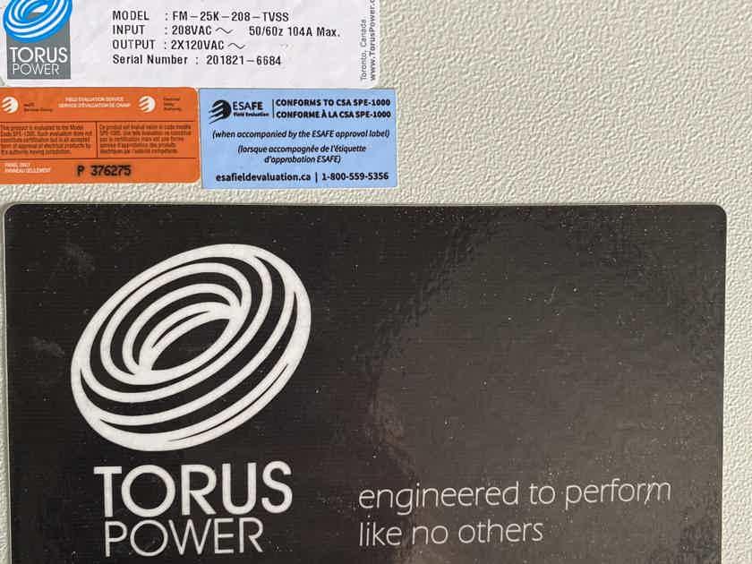 Torus FM 25K 240v power isolation Transformer conditioner Toroidal conditioning