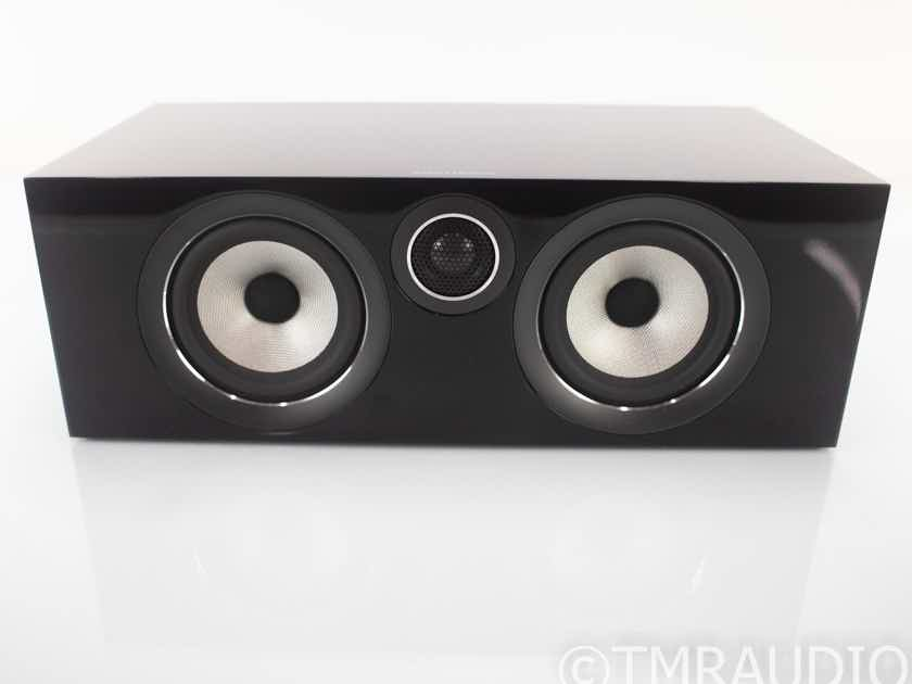 B&W HTM72 S2 Center Channel Speaker; Gloss Black; HTM-72 (18658)