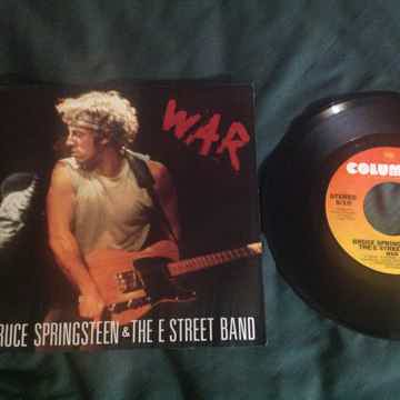 Bruce Springsteen - War/Merry Christmas Baby Columbia R...