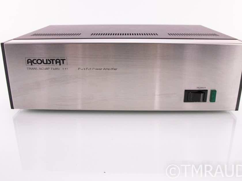 TransNova Twin 200 Stereo Power Amplifier