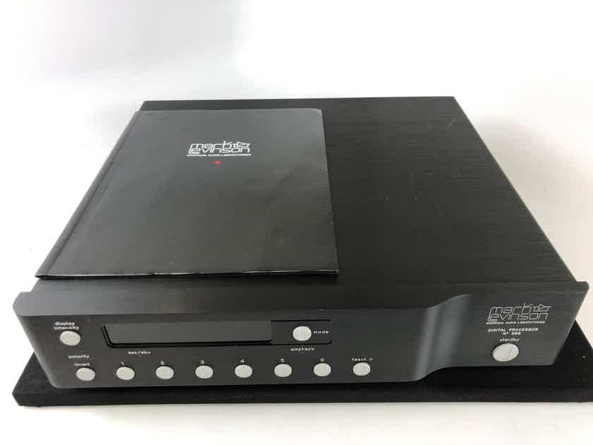 Mark Levinson No.360s DAC, Quad Multibit 24-Bit Burr-Brown PCM1704's