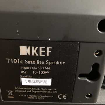 KEF T101c (center) Satellite Speaker