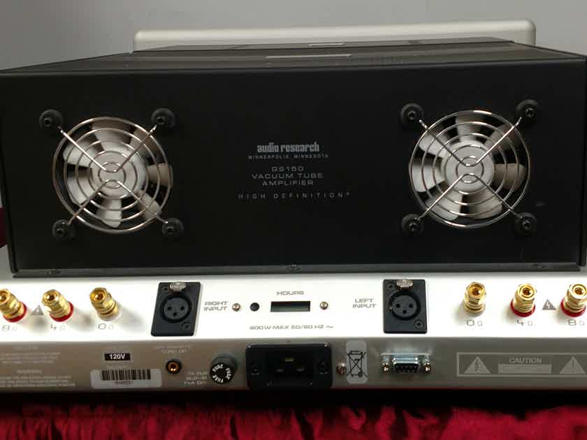 Audio Research GS150 POWER AMPLIFIER WITH NORDOST 20 AMP RED DAWN POWER CORD