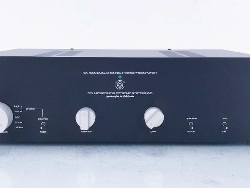 Counterpoint SA-1000 Stereo Tube Preamplifier MM / MC Phono (13780)