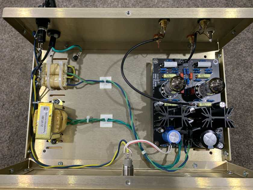Custom Design Tube Phono Preamp