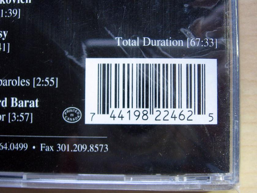Charles Stier - Clarinet / Molly Newton - Piano - Cameos Factory Sealed New CD ELAN CD 82246