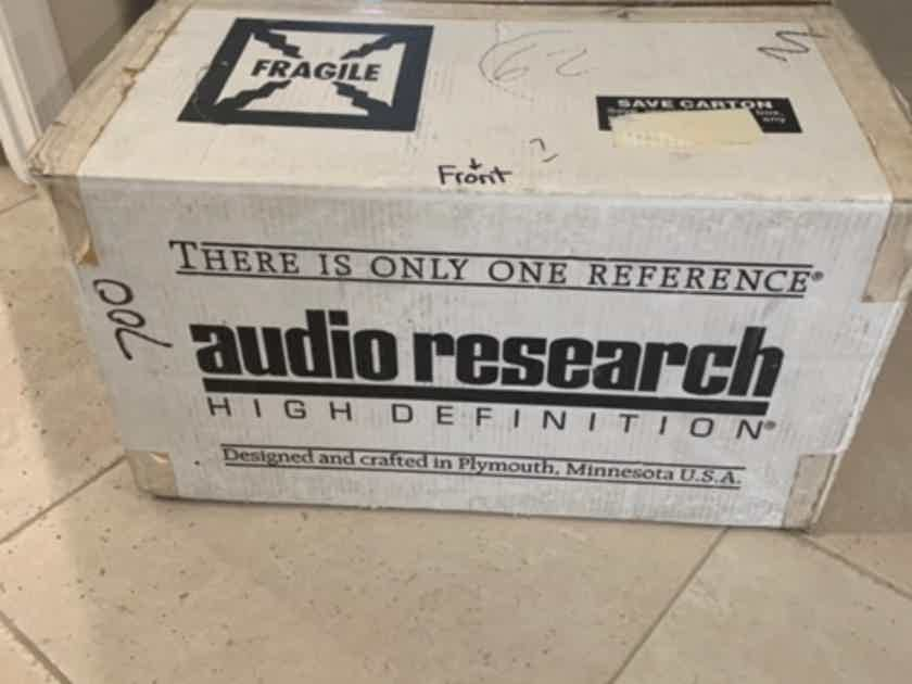 Audio Research LS26 preamp