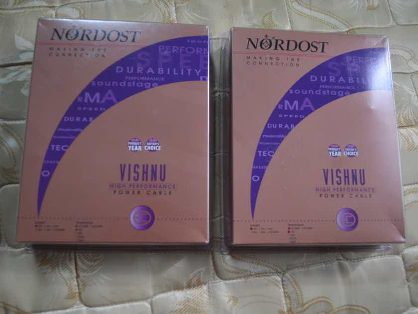 Nordost  Vishnu 2m 15 Amp US plug power cord reduced!
