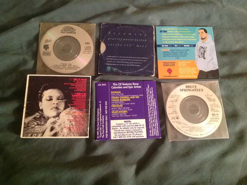 U2 Bruce Springsteen OMD And Various Artists 3 Inch Compact Disc Titles