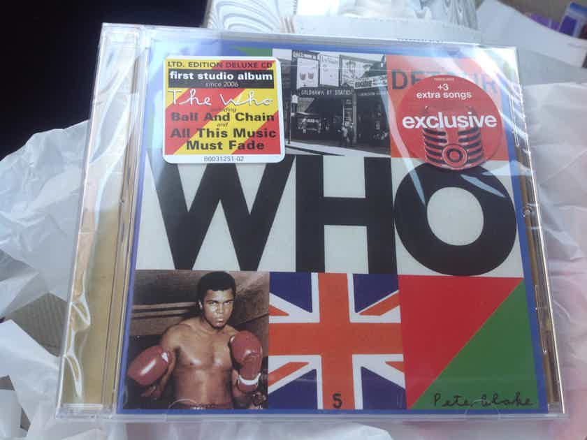 The Who WHO Limited Edition Target Exclusive + 3 Bonus Tracks
