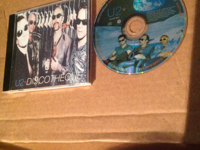 U2 - Discotheque Island Records Compact Disc EP