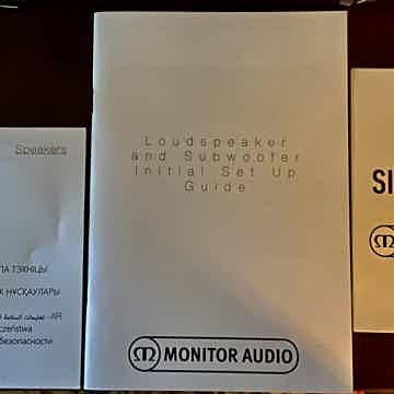 """Monitor Audio Silver 300""""s"""
