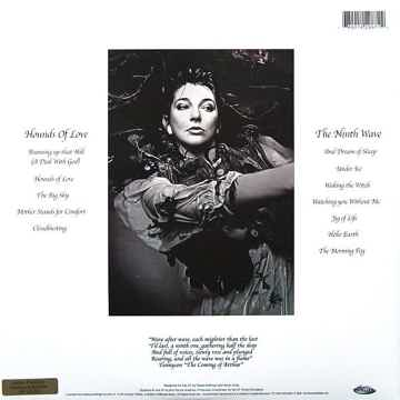 Kate Bush Hounds of Love Rare Audio Fidelit