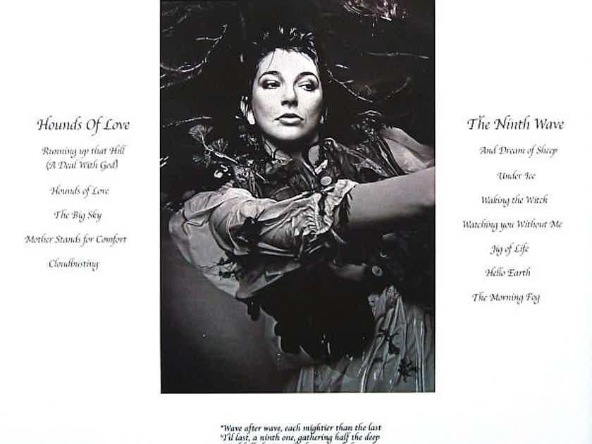 Kate Bush - Hounds of Love Rare Audio Fidelit Limited Edition 180 gram beautiful colored mobilized vinyl